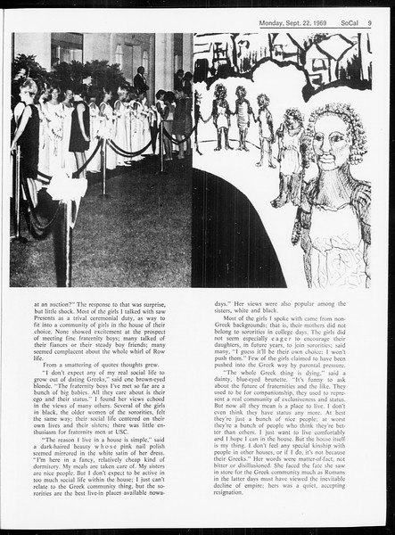 SoCal, Vol. 61, No. 6, September 22, 1969