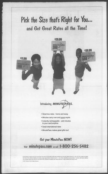 Daily Trojan, Vol. 144, No. 18, September 24, 2001
