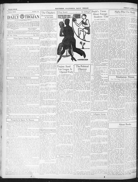 Daily Trojan, Vol. 23, No. 126, April 15, 1932