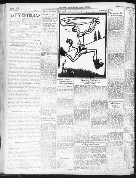 Daily Trojan, Vol. 23, No. 95, February 25, 1932