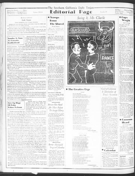 Daily Trojan, Vol. 28, No. 87, February 26, 1937