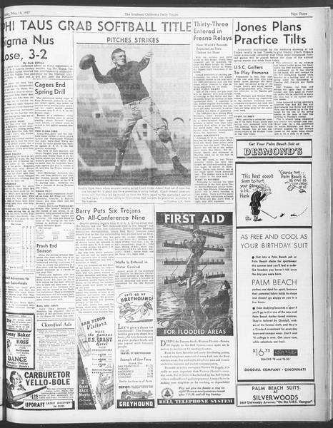 Daily Trojan, Vol. 28, No. 136, May 14, 1937