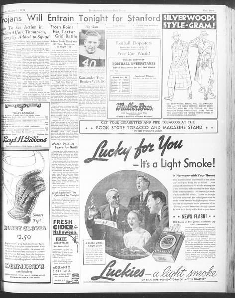 Daily Trojan, Vol. 28, No. 25, October 22, 1936