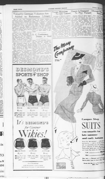 Summer Session Trojan, Vol. 15, No. 8, July 17, 1936