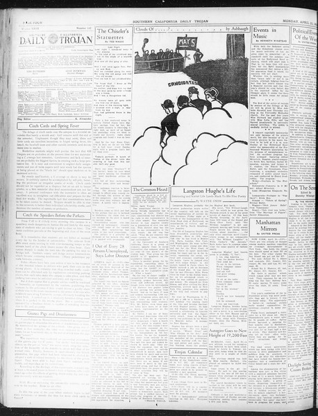 Daily Trojan, Vol. 23, No. 132, April 25, 1932