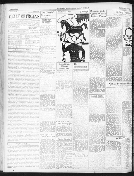 Daily Trojan, Vol. 23, No. 103, March 08, 1932