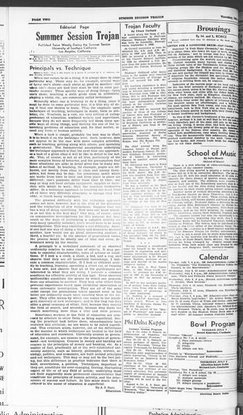 Summer Session Trojan, Vol. 15, No. 5, July 07, 1936