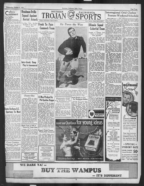 Daily Trojan, Vol. 27, No. 14, October 09, 1935