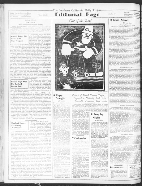 Daily Trojan, Vol. 28, No. 63, January 11, 1937