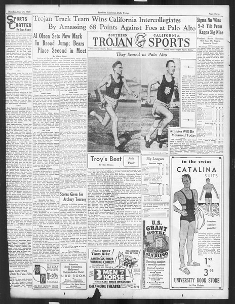 Daily Trojan, Vol. 26, No. 140, May 20, 1935