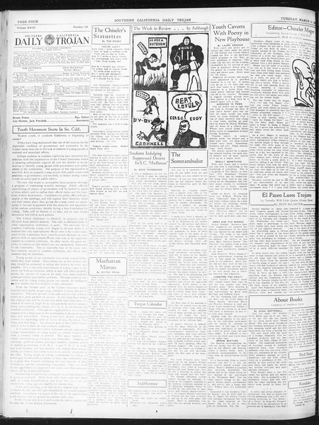 Daily Trojan, Vol. 23, No. 108, March 15, 1932