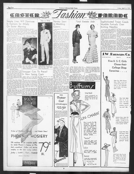 Daily Trojan, Vol. 26, No. 116, April 12, 1935