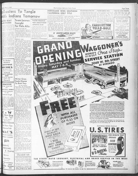 Daily Trojan, Vol. 28, No. 132, May 07, 1937
