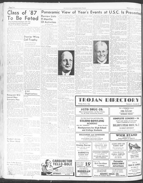 Daily Trojan, Vol. 28, No. 148, June 02, 1937