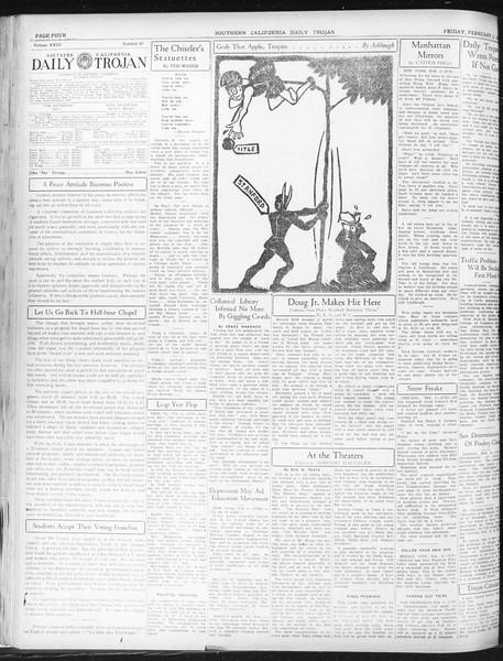 Daily Trojan, Vol. 23, No. 82, February 05, 1932