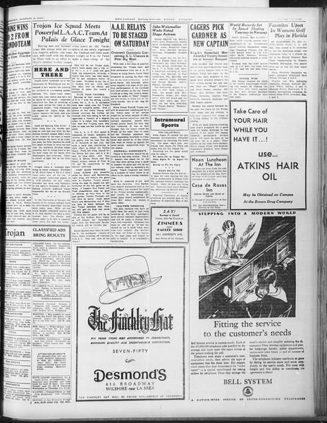 Daily Trojan, Vol. 22, No. 100, March 05, 1931