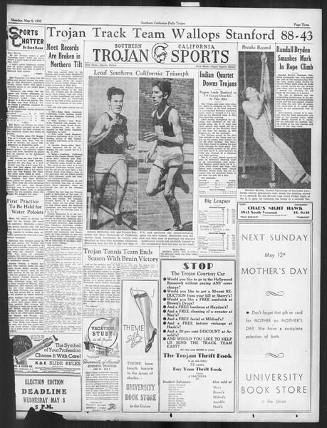 Daily Trojan, Vol. 26, No. 131, May 06, 1935