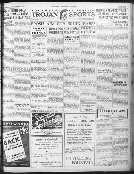 Daily Trojan, Vol. 23, No. 40, November 05, 1931