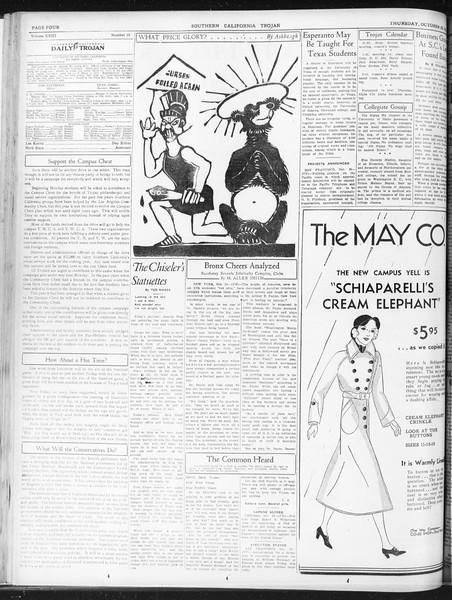 Daily Trojan, Vol. 23, No. 35, October 29, 1931