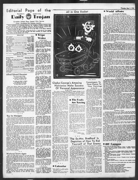 Daily Trojan, Vol. 27, No. 131, May 07, 1936
