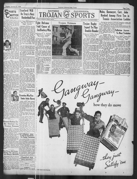 Daily Trojan, Vol. 27, No. 69, January 21, 1936