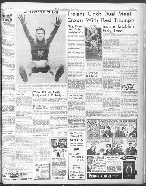 Daily Trojan, Vol. 28, No. 133, May 10, 1937
