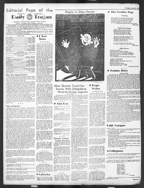 Daily Trojan, Vol. 27, No. 145, May 28, 1936