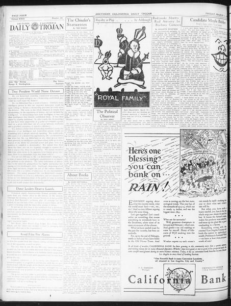 Daily Trojan, Vol. 23, No. 106, March 11, 1932