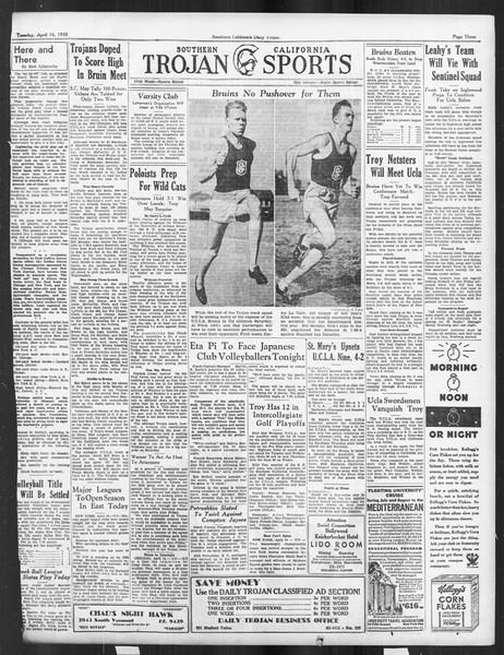 Daily Trojan, Vol. 26, No. 118, April 16, 1935