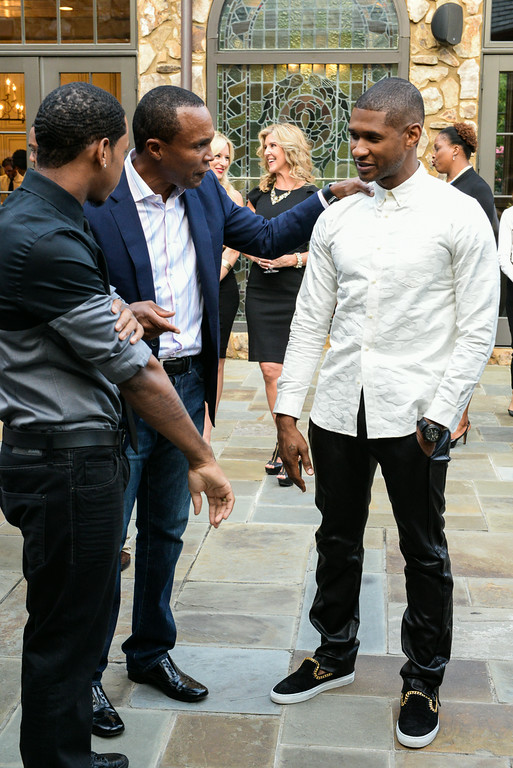 Vedo, Sugar Ray Leonard, Usher