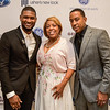 Usher with Roberta Shields and son Ludacris