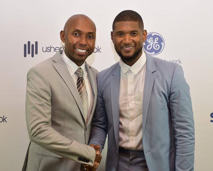 D.J Vaughn, Usher