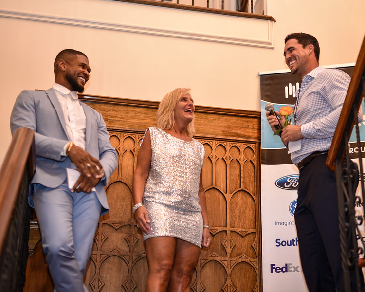 Usher, Sue Hrib, and the Bachelor, Josh Murray