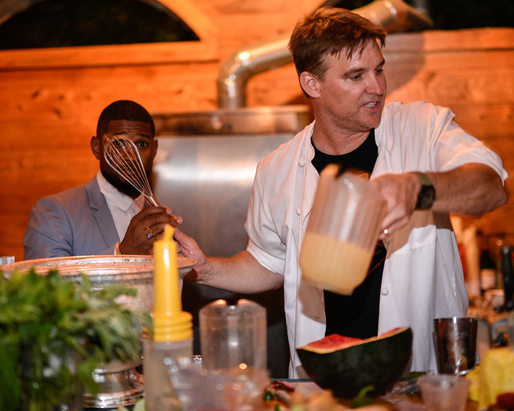 Usher asked to assist with some liquid nitrogen!
