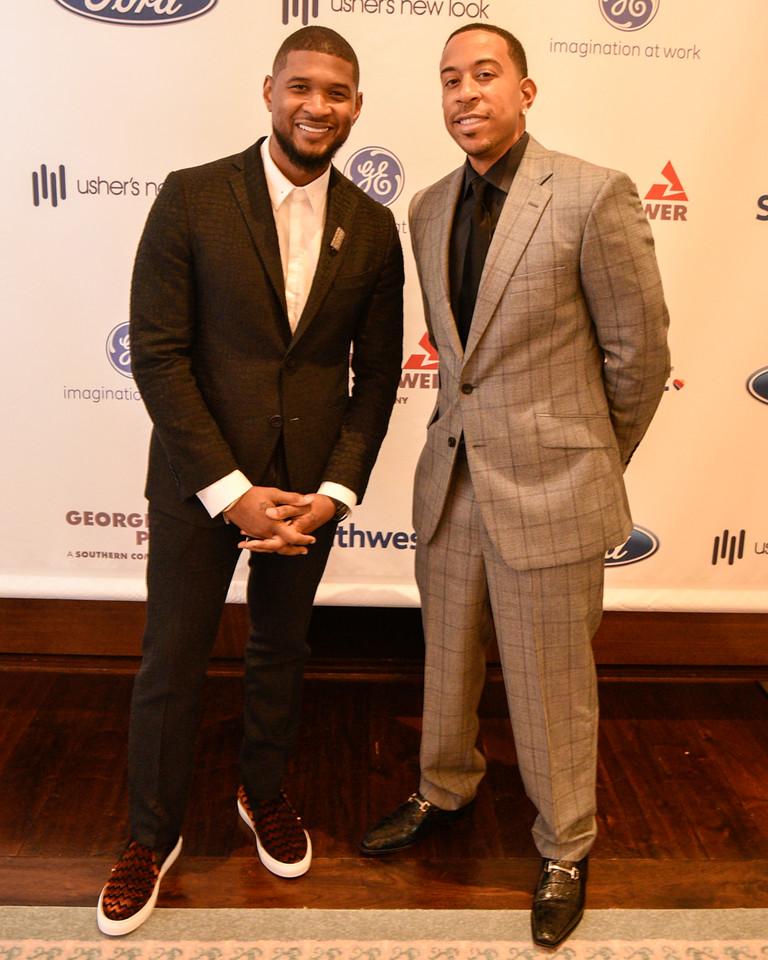 Usher , Ludacris