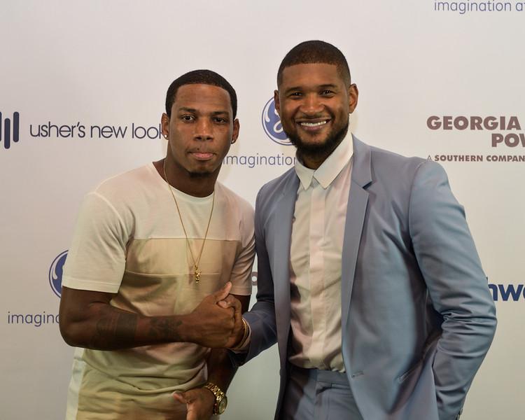 Vedo the Singer, Usher