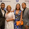 Usher with Roberta Shields, Eudoxie Agnan, and Ludacris