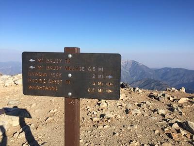 Mount Baldy - August 2017