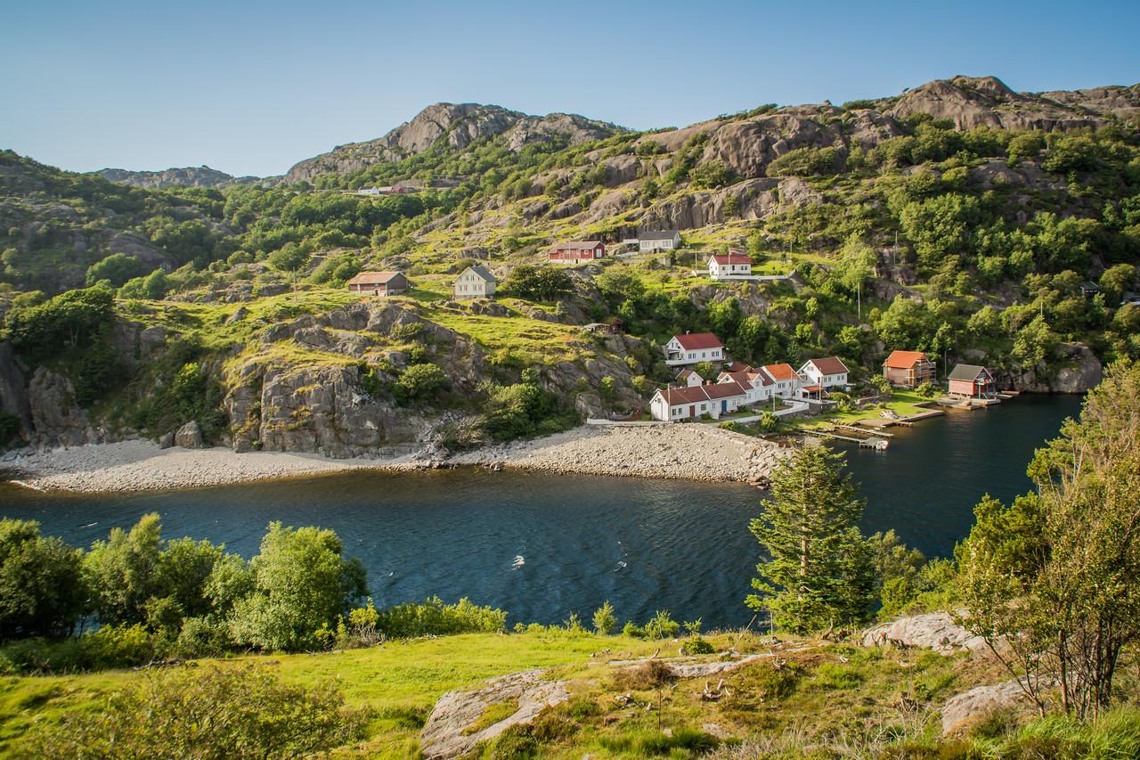 Utsikt fra tur til Brufjell