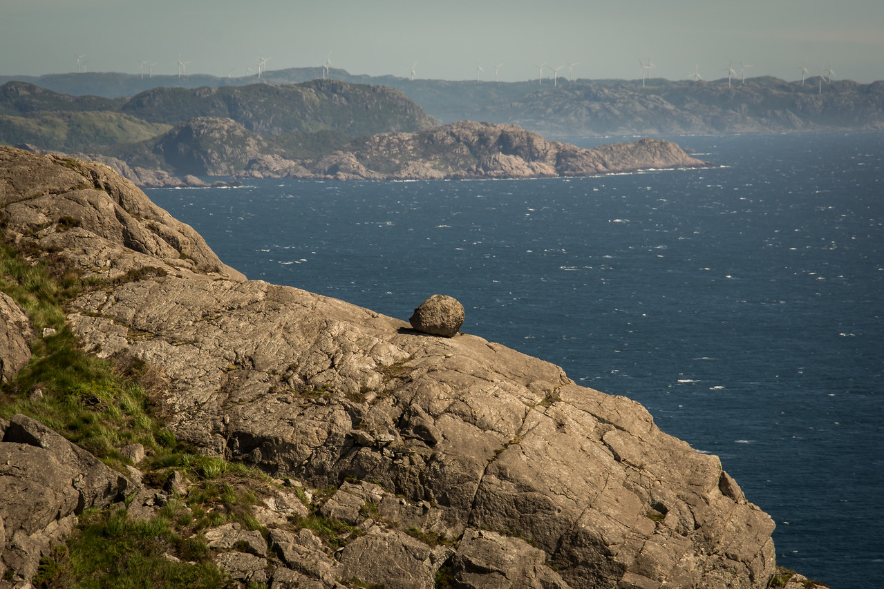 Utsikt fra Brufjell