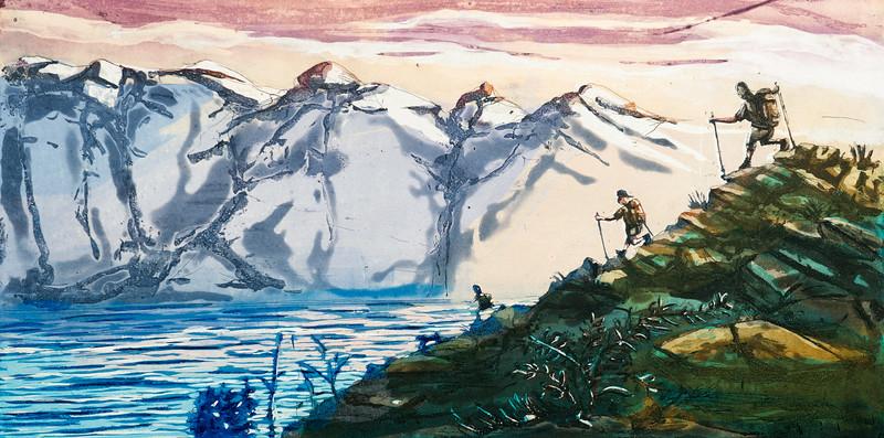 Ned til fjorden, 2019, 2800,-