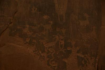 Moab area Petroglyphs