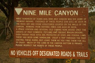 Nine Mile Canyon-Great Hunt