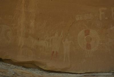 Sego Canyon Petroglyphs