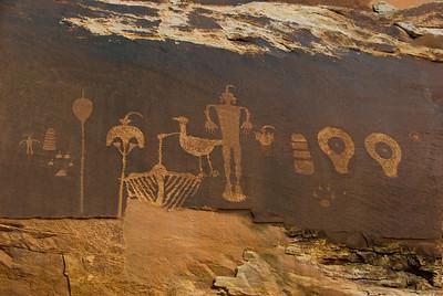 Wolf Man Petroglyphs