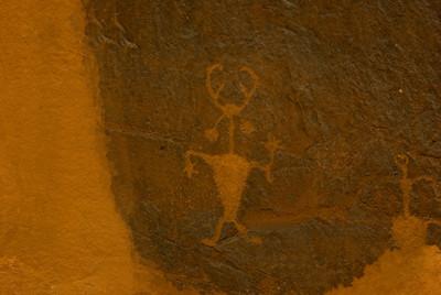 Moab Man, Golf Course Petroglyphs