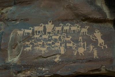 The Great Hunt, Nine Mile Canyon, Utah