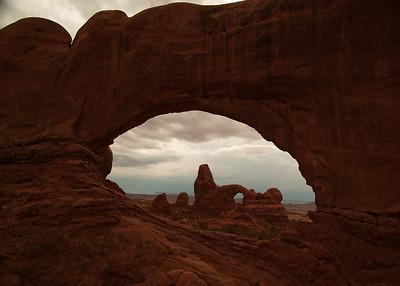 Turret Arch thru North Window