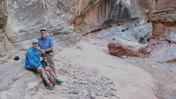 Seth and Me, Little Wild Horse Canyon