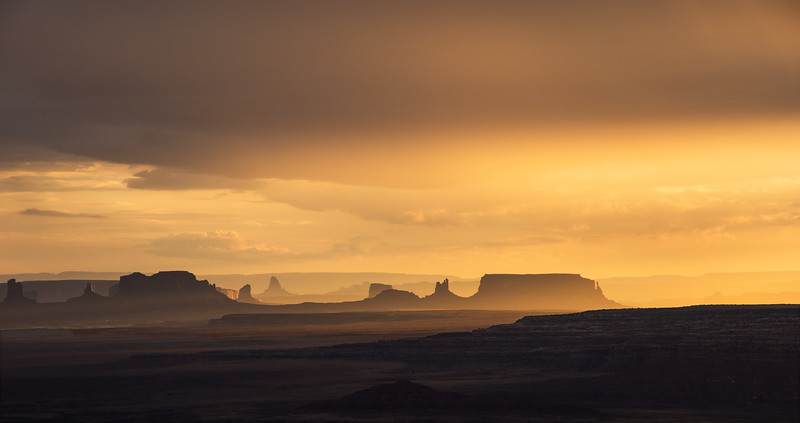 Monument Valley, Utah, from Muley Point